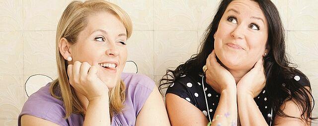 """""""Sind die anderen richtiger als ich?"""" Das BARBARA-Interview mit Maite Kelly und Britta Sabbag"""