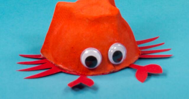 Auf Tauchstation: Zauberhafte Unterwasserwelt aus Eierkartons!