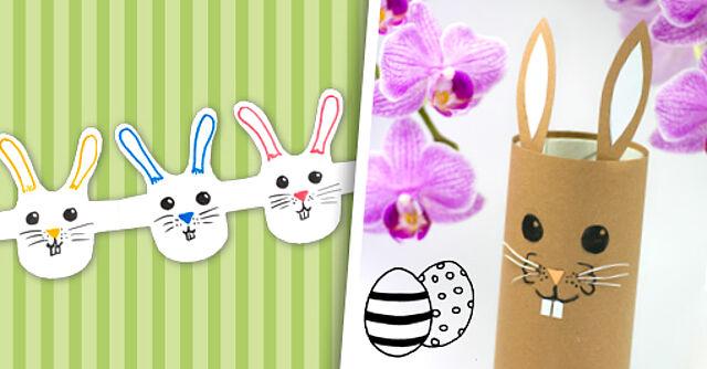 Bald ist Ostern: Lasst die Hasen hüpfen!