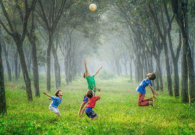 Spiel und Spaß in Wies´und Gras!