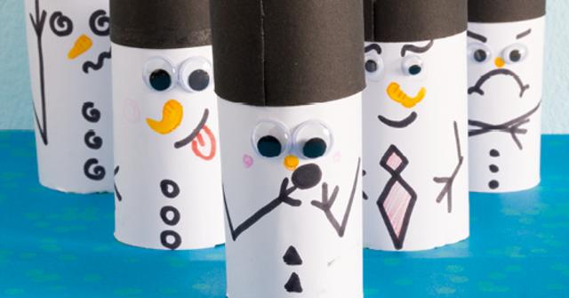 Schneemann kegeln: Ein großer Spaß für kalte Tage