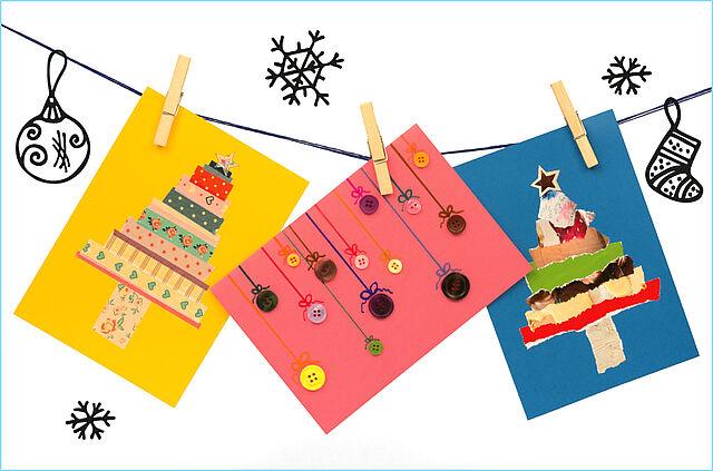 Liebe Weihnachtsgrüße per Briefpost!