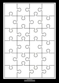 18 Wunderbar Puzzle Vorlage Word Stilvoll