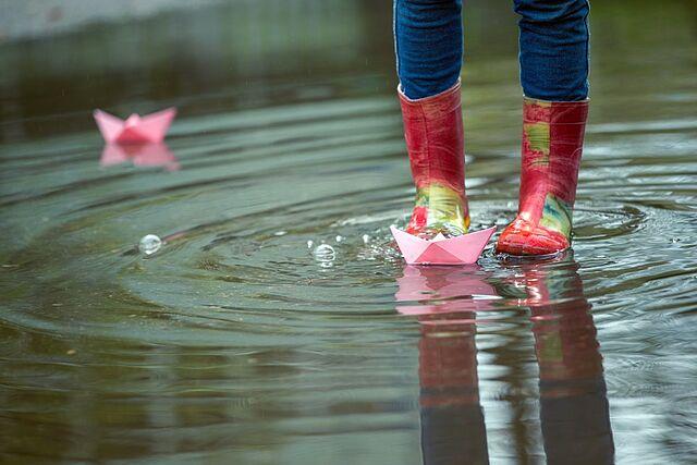 Ein Segen, dieser Regen: Für schöne Spiele!