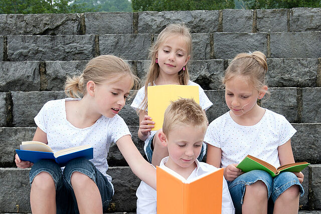 Wir feiern den Kinderbuchtag!