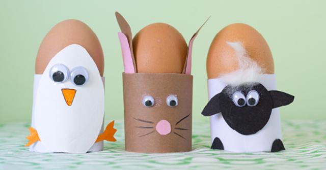 Eins, Zwei, Osterei – Kreative Eierbecher-Bastelei zu Ostern