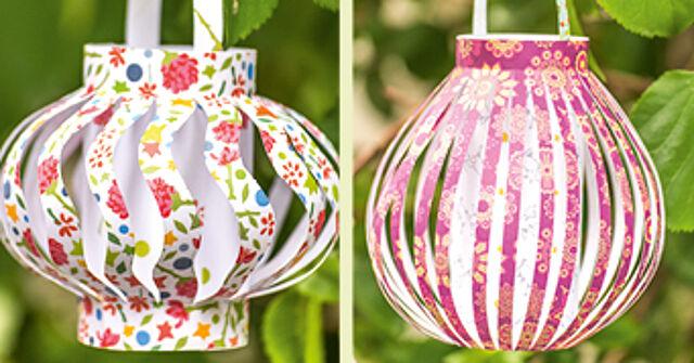 Luftige Lampions – Perfekte Farbkleckse für Ihre Gartenparty!