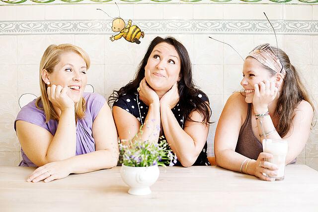 Die kleine Hummel Bommel: Ein Interview mit Maite Kelly und Britta Sabbag