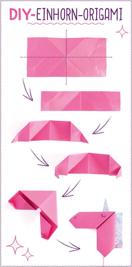 origami einhorn my blog. Black Bedroom Furniture Sets. Home Design Ideas