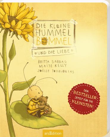 Die kleine Hummel Bommel und die Liebe (Pappbilderbuch)