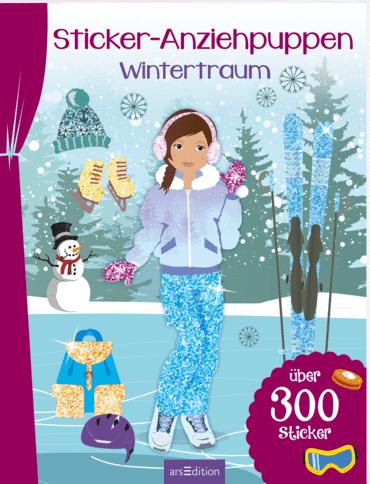 Sticker-Anziehpuppen Wintertraum