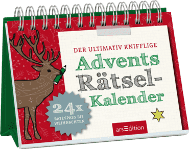 Der ultimativ knifflige Advents-Rätsel-Kalender
