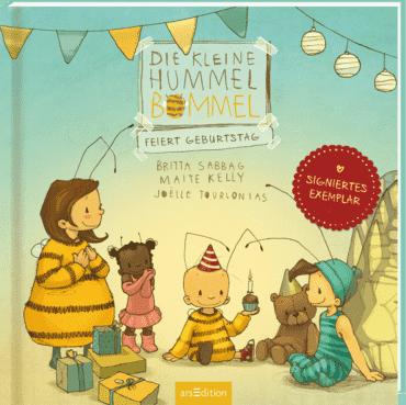 Die kleine Hummel Bommel feiert Geburtstag (signierte Ausgabe)