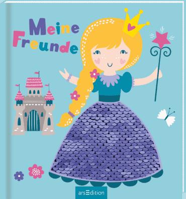 Meine Freunde - Prinzessin (mit Wendepailletten)