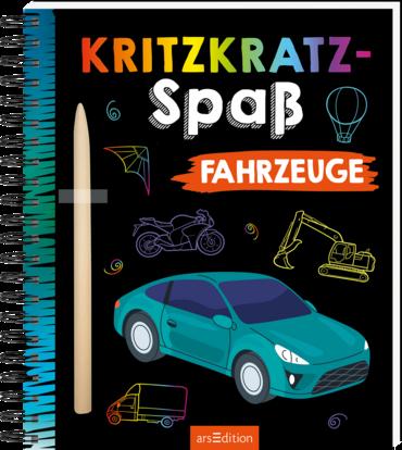Kritzkratz-Spaß Fahrzeuge
