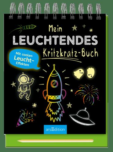 Mein leuchtendes Kritzkratz-Buch