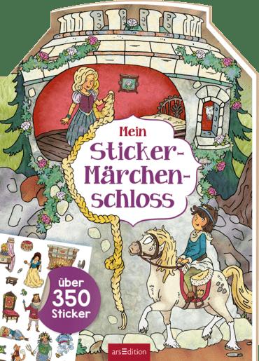 Mein Sticker-Märchenschloss