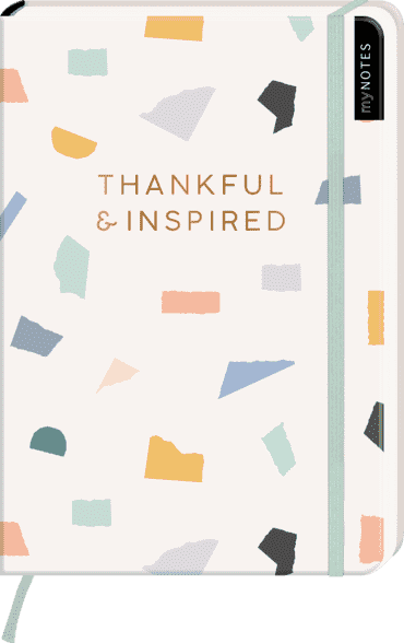 myNOTES Notizbuch A5: Thankful & inspired