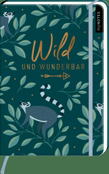 myNOTES Notizbuch A5: Wild und wunderbar