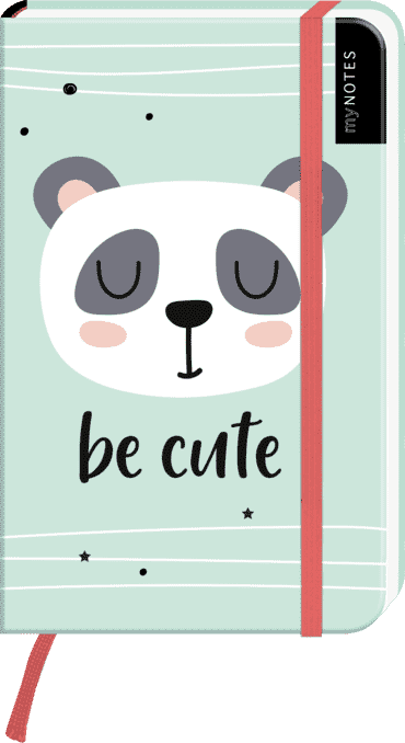 myNOTES Notizbuch A6: Be cute