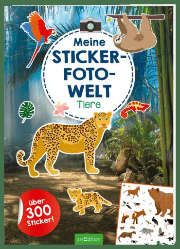 Meine Sticker-Foto-Welt - Tiere