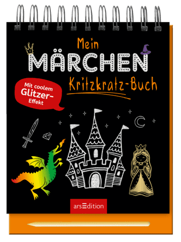 Mein Märchen-Kritzkratz-Buch