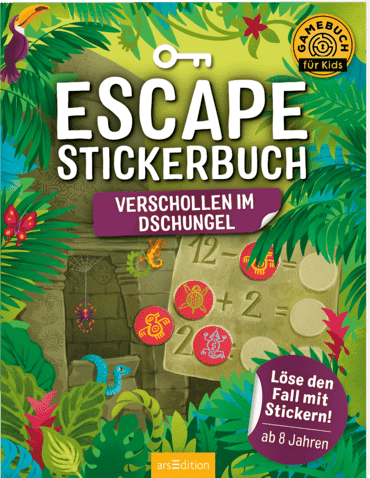 Escape-Stickerbuch - Verschollen im Dschungel