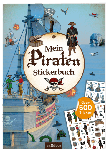 Mein Piraten-Stickerbuch