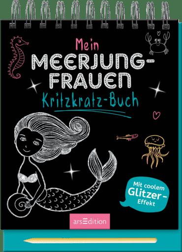 Mein Meerjungfrauen-Kritzkratz-Buch