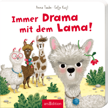 Always drama with little llama!