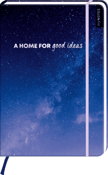 myNOTES Notizbuch A4: A home for good ideas