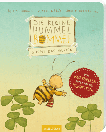 Die kleine Hummel Bommel sucht das Glück (Pappbilderbuch)