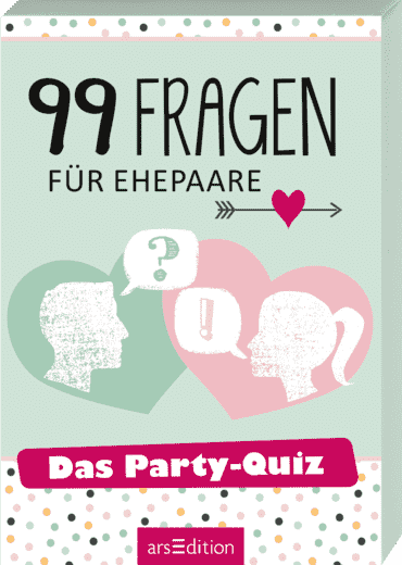 99 Fragen für Ehepaare