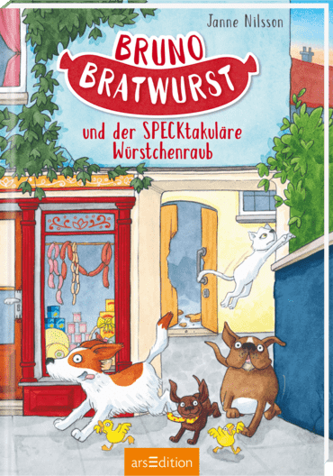 Bruno Barker and The Sausage Robbery