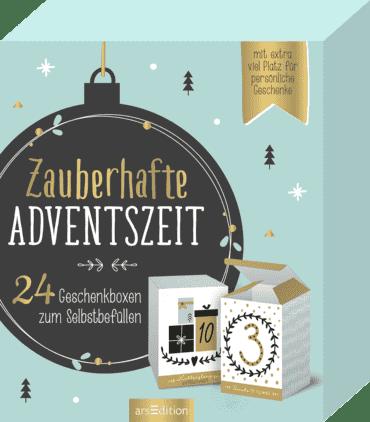 Zauberhafte Adventszeit. 24 Geschenkboxen zum Selbstbefüllen