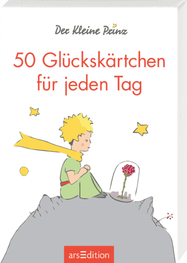 Der Kleine Prinz. 50 Glückskärtchen für jeden Tag