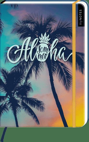 myNOTES Notizbuch A5: Aloha Sommer.