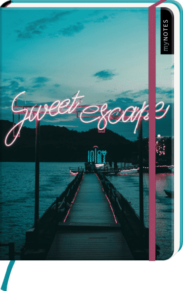myNOTES Notizbuch A5: Sweet escape