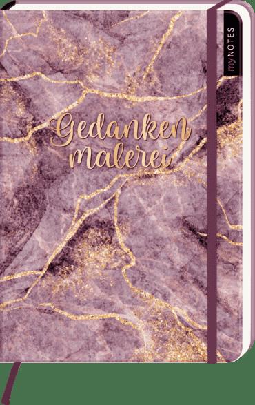 myNOTES Notizbuch A5: Gedankenmalerei